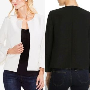 🆕️Vince Camuto Bell-Sleeve Open Front Blazer M